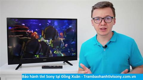 Bảo hành sửa chữa tivi Sony tại Đồng Xuân