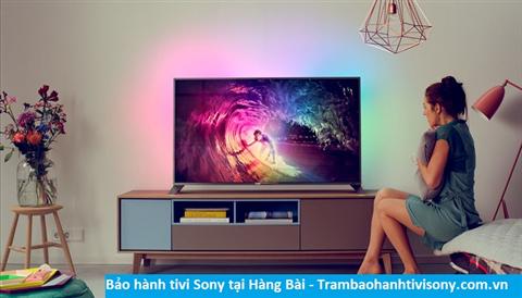 Bảo hành sửa chữa tivi Sony tại Hàng Bài