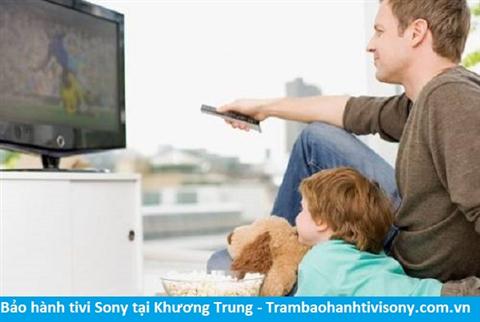Bảo hành sửa chữa tivi Sony tại Khương Trung