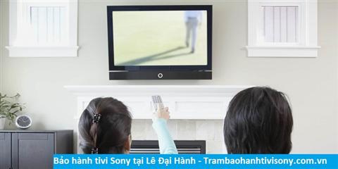 Bảo hành sửa chữa tivi Sony tại Lê Đại Hành