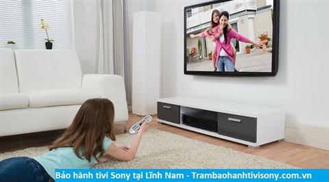 Bảo hành sửa chữa tivi Sony tại Lĩnh Nam