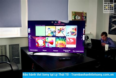 Bảo hành sửa chữa tivi Sony tại Lý Thái Tổ