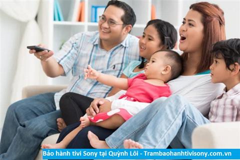 Bảo hành sửa chữa tivi Sony tại Quỳnh Lôi