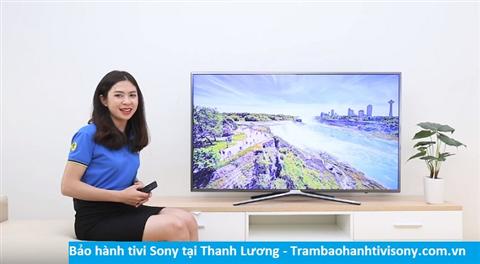 Bảo hành sửa chữa tivi Sony tại Thanh Lương