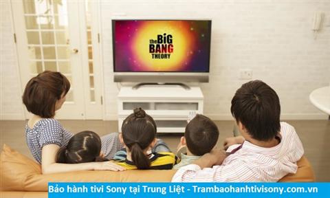 Bảo hành sửa chữa tivi Sony tại Trung Liệt