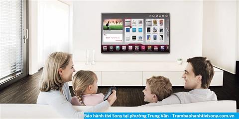 Bảo hành sửa chữa tivi Sony tại Trung Văn