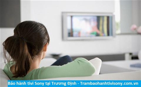 Bảo hành sửa chữa tivi Sony tại Trương Định