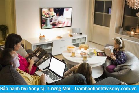 Bảo hành sửa chữa tivi Sony tại Tương Mai
