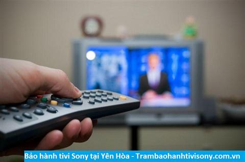 Bảo hành sửa chữa tivi Sony tại Yên Hòa