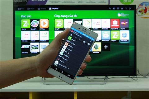 Hướng dẫn sử dụng điện thoại để điều khiển Smart tivi Sony thông qua ứng dụng TV SideView