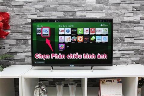 Cách phát hình ảnh màn hình từ điện thoại Sony lên tivi Sony