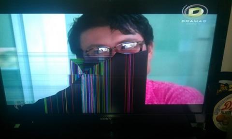 Nguyên nhân tivi sony bị nhòe màu, mất hình ảnh và cách sửa