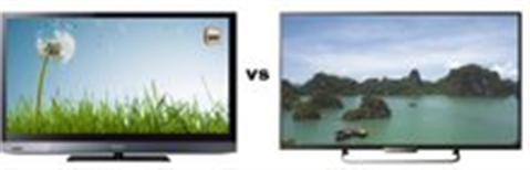 So sánh Tivi LED Sony KLV-46EX520 và Tivi LED Sony KDL55W800B