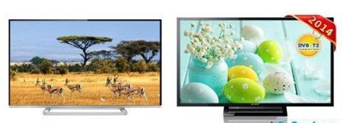 So sánh Tivi LED SONY KDL-32R410B VN3 và Smart TV LED Toshiba 32L5450VN