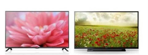 So sánh Tivi LED LG 32LB552A và Sony KDL 32R300B