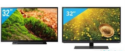 So sánh Tivi LED Sharp LC-32LE155D2 và Sony KDL-32R300B VN3 giá rẻ