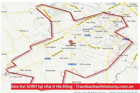 Sửa tivi SONY tại nhà quận Hà Đông