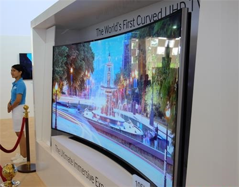 Ti vi màn hình cong có những lợi thế gì