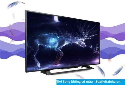 Tivi Sony bị nhòe màu