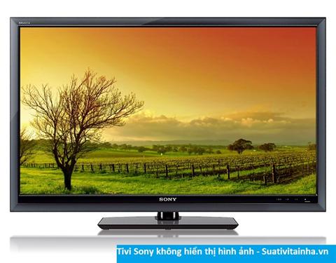 Tivi Sony không hiển thị hình ảnh