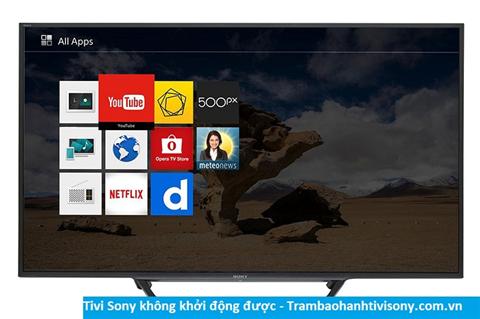 Tivi Sony không khởi động được