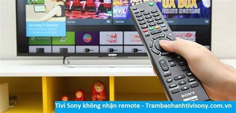 Tivi Sony không nhận tín hiệu remote
