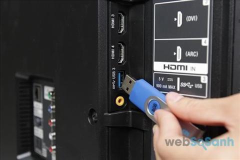 Tivi Toshiba được trang bị những cổng kết nối nào