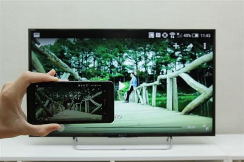 Cách phát Video hình ảnh từ điện thoại HTC lên tivi Sony