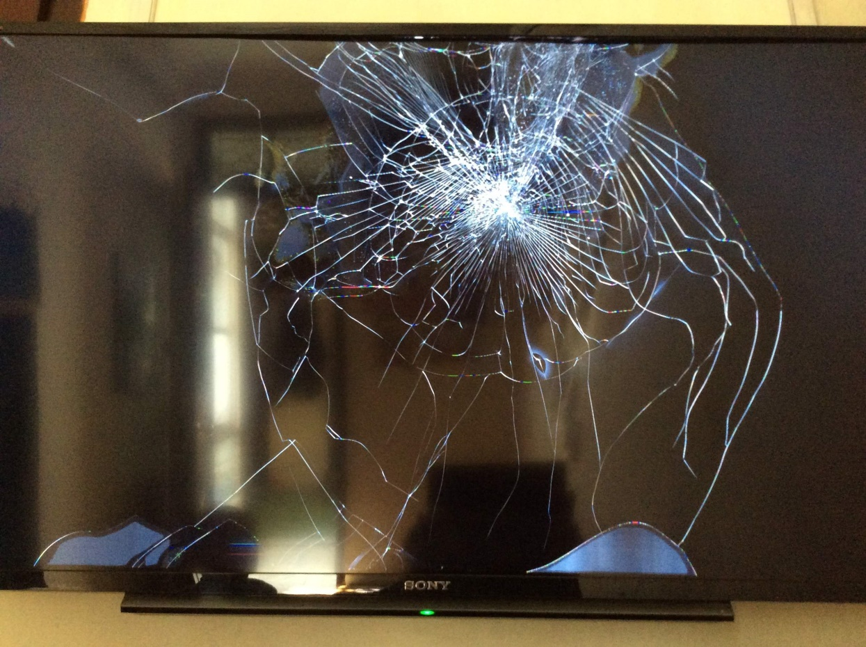 THAY MÀN HÌNH TIVI SONY BỊ VỠ phải thay màn hình tivi ở đâu
